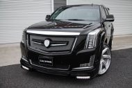 Calwing Body Kit 26 Zoll Forgiato Wheels Alufelgen Cadillac Escalade Tuning 7 190x127 Calwing Body Kit & 26 Zoll Alufelgen am Cadillac Escalade