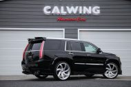 Calwing Body Kit 26 Zoll Forgiato Wheels Alufelgen Cadillac Escalade Tuning 9 190x127 Calwing Body Kit & 26 Zoll Alufelgen am Cadillac Escalade