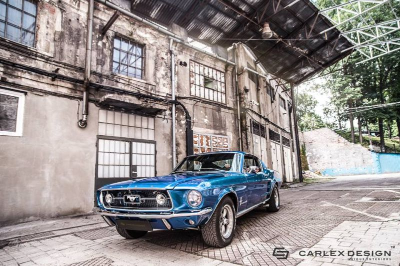 Carlex-Design-1960-Ford-Mustang-Fastback-Interieur-Tuning (13)