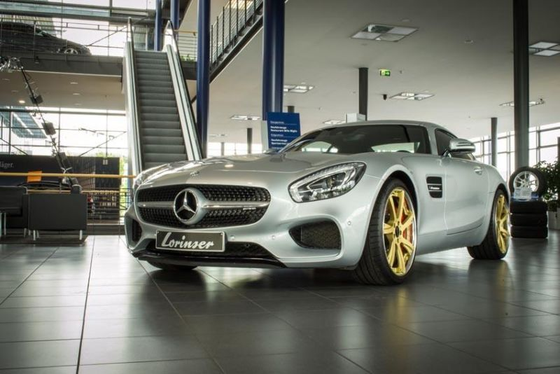 Chiptuning 595PS & 750NM Lorinser Mercedes AMG GTs 1
