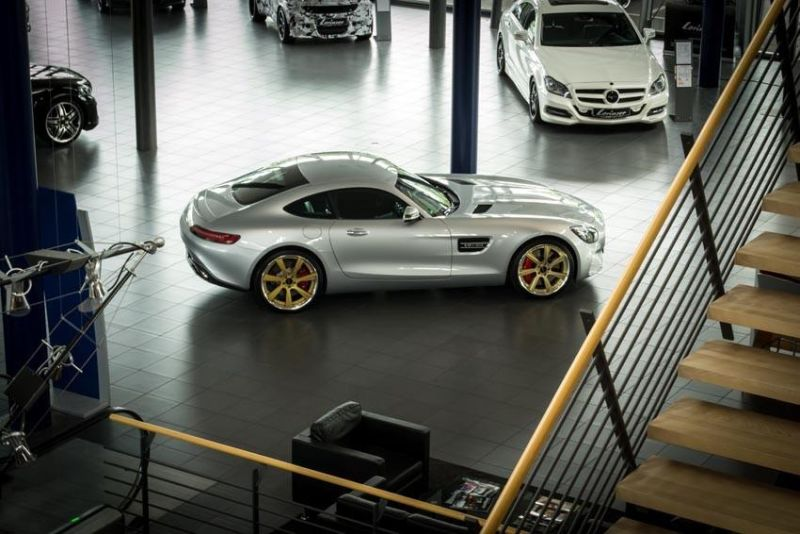 Chiptuning 595PS & 750NM Lorinser Mercedes AMG GTs 5
