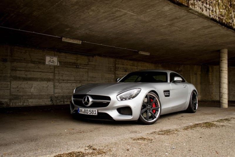 Chiptuning 595PS & 750NM Lorinser Mercedes AMG GTs 6