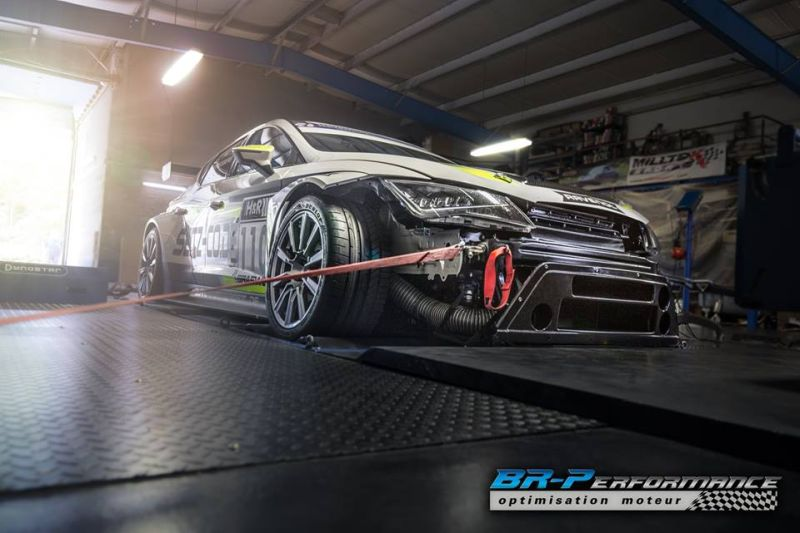 Chiptuning SEAT Leon Cup Racecar BR Performance 2 Chiptuning am SEAT Leon Cup Racecar by BR Performance