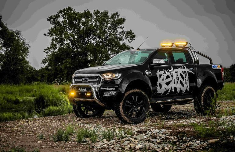 das biest tuning 2016 ford ranger delta4x4 offroad 11. Black Bedroom Furniture Sets. Home Design Ideas