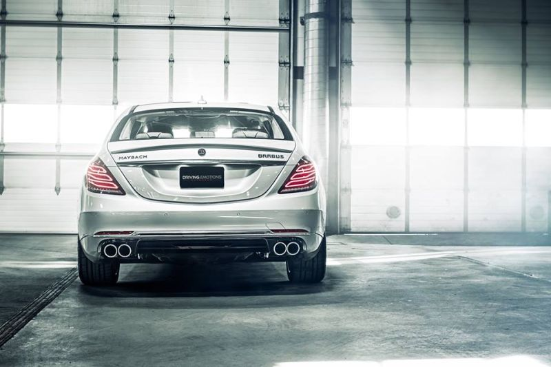 Driving Emotion Motorcar Brabus Maybach Rocket 900 Tuning Bodykit (6)