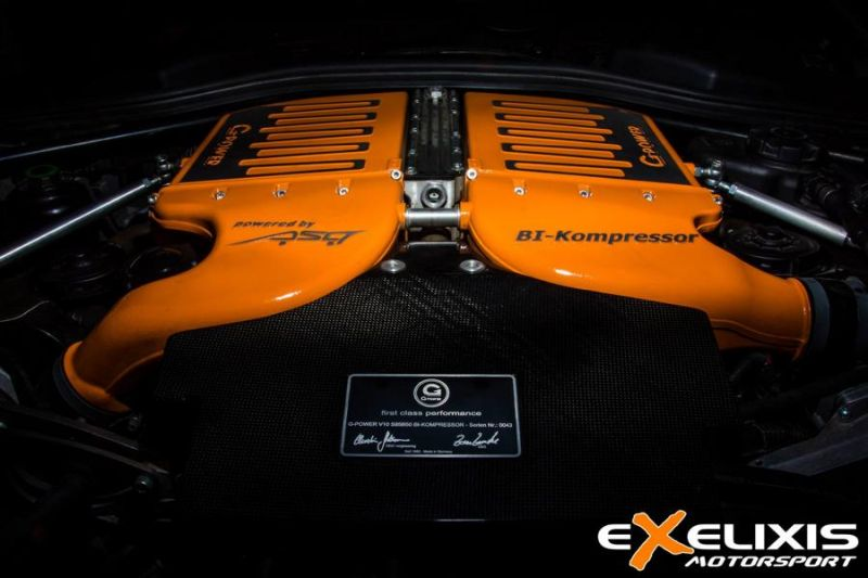 Exelixis Motorsport BMW M6 G-Power V10 Bi-Kompressor G-Power Hamann Motorsport tuning (3)