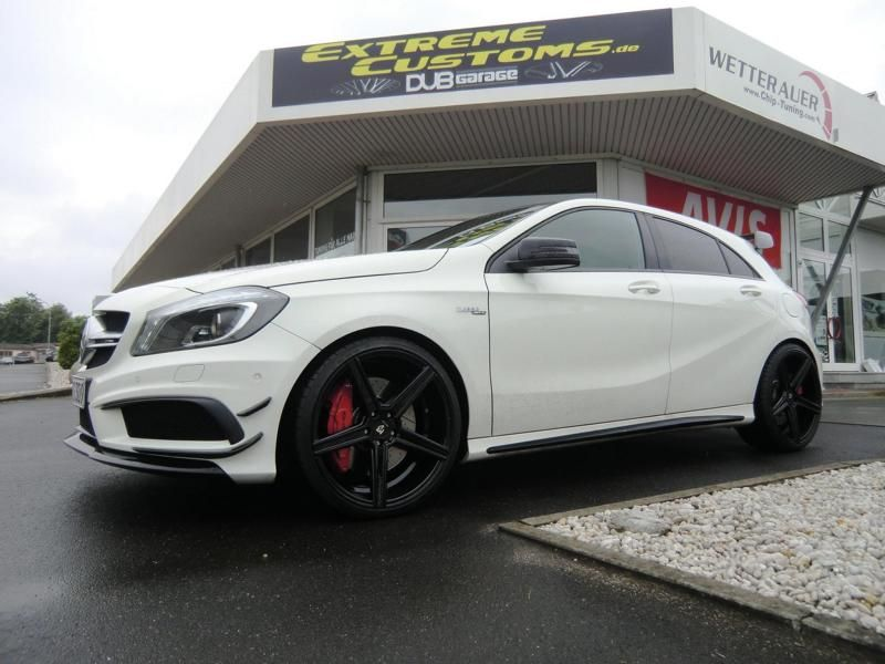 Extreme Customs Germany Mercedes AMG A45 AMG mbdesing KV1 Tuning 1 Extreme Customs Germany Mercedes AMG A45 auf 20 Zöllern
