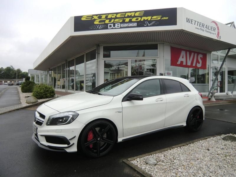 Extreme Customs Germany Mercedes AMG A45 AMG mbdesing KV1 Tuning 2 Extreme Customs Germany Mercedes AMG A45 auf 20 Zöllern