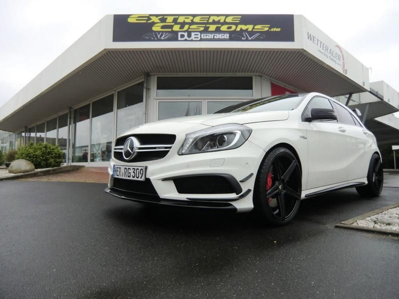 Extreme Customs Germany Mercedes AMG A45 AMG mbdesing KV1 Tuning 3 Extreme Customs Germany Mercedes AMG A45 auf 20 Zöllern