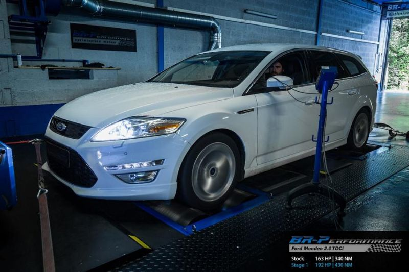 Ford Mondeo 2.0 TDCi Chiptuning BR Performance 1 Ford Mondeo 2.0 TDCi mit 192PS by BR Performance