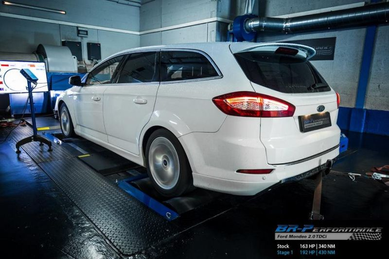 Ford Mondeo 2.0 TDCi Chiptuning BR Performance 2 Ford Mondeo 2.0 TDCi mit 192PS by BR Performance