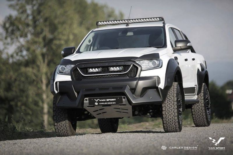Ford Ranger M Sport Mini Raptor Outfit Tuning 1 Fotostory: Ford Ranger M Sport mit Mini Raptor Outfit