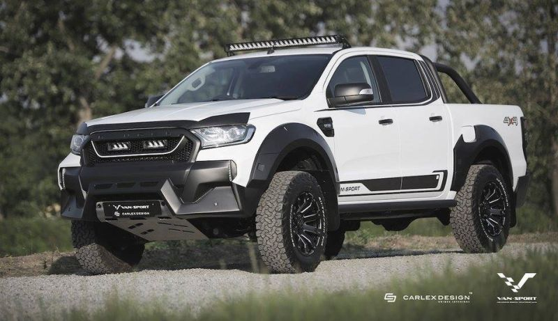 Ford Ranger M-Sport Mini-Raptor Outfit Tuning 3