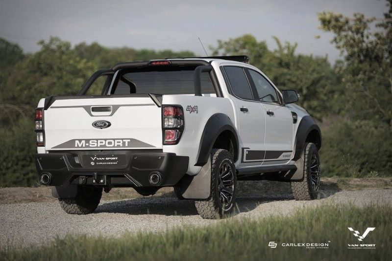 Ford Ranger M-Sport Mini-Raptor Outfit Tuning 5