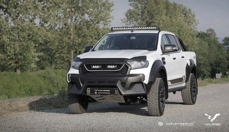 Ford Ranger M-Sport Mini-Raptor Outfit Tuning 7