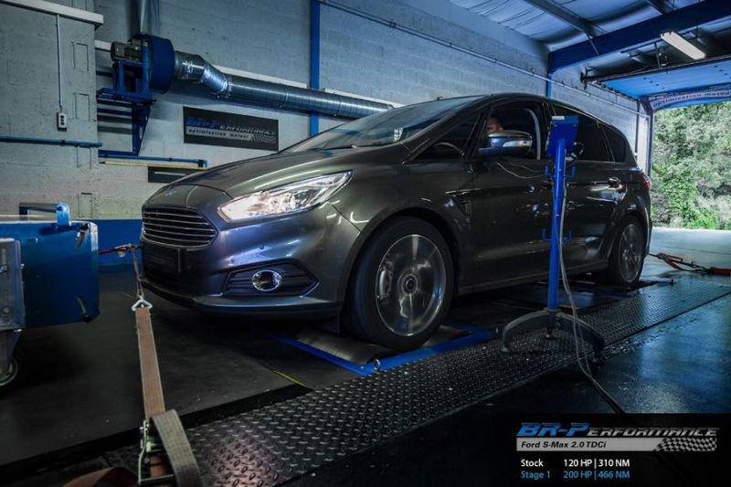 Ford S Max 2.0 TDCi Chiptuning 200PS 466NM BR Performance 2 Ford S Max 2.0 TDCi mit 200PS & 466NM by BR Performance