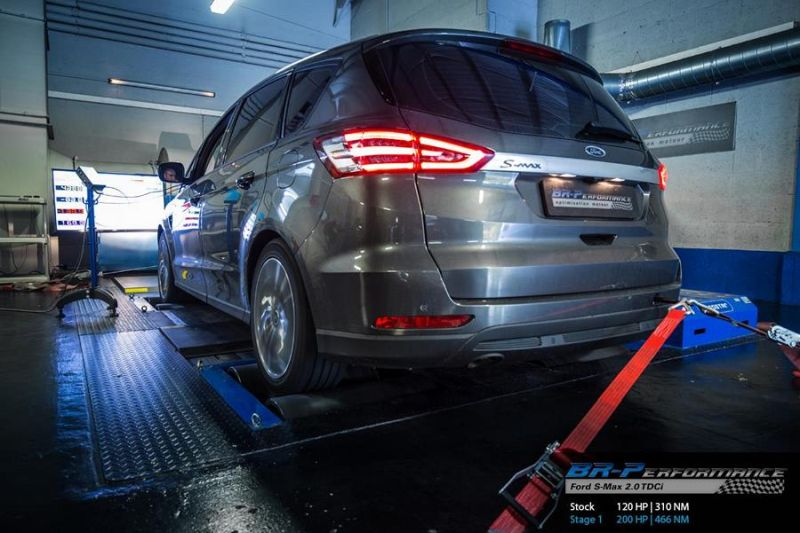 Ford S Max 2.0 TDCi Chiptuning 200PS 466NM BR Performance 3 Ford S Max 2.0 TDCi mit 200PS & 466NM by BR Performance