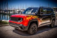 Jeep Renegade Tuning Garage Italia Customs Folierung 3 190x127 Fotostory: Einzelstück   Jeep Renegade by Garage Italia Customs