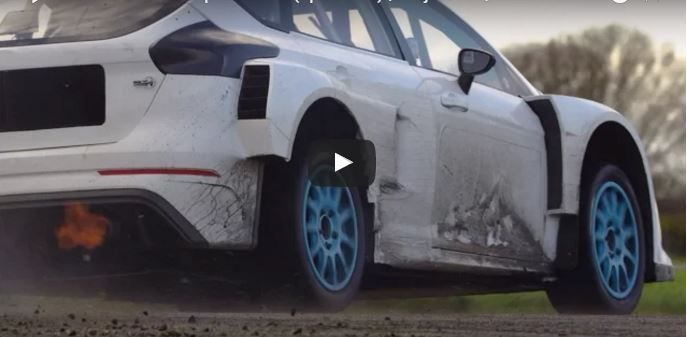 Ken Block im M-Sport Ford Focus RS Project RX