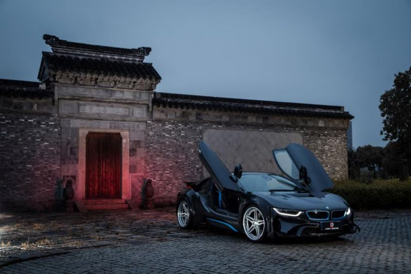 neu evo bmw i8 lr edition by energy motor sport. Black Bedroom Furniture Sets. Home Design Ideas