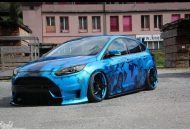 MDS tuning Ford Focus Airbrush 2016 3 190x129 Userauto   Ford Focus mit krassen Airbrush rundum