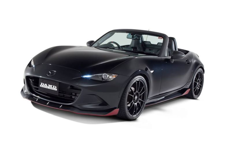 sportlich mazda mx 5 nd roadster mit damd inc bodykit. Black Bedroom Furniture Sets. Home Design Ideas