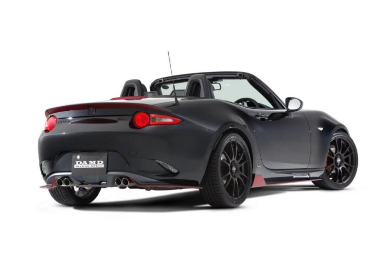 Mazda MX 5 ND Roadster DAMD inc. Bodykit Tuning 2 Sportlich   Mazda MX 5 ND Roadster mit DAMD inc. Bodykit