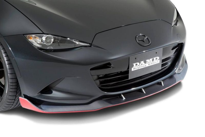 Mazda MX 5 ND Roadster DAMD inc. Bodykit Tuning 3 Sportlich   Mazda MX 5 ND Roadster mit DAMD inc. Bodykit