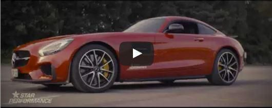 Mercedes AMG GT S 2016 von Star Performance 1 Video: Mercedes AMG GT S 2016 von Star Performance
