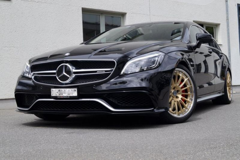 Mercedes Benz CLS63 AMG Shootingbrake W218 Tuning KW HRE 2 cartech.ch   Mercedes Benz CLS63 AMG auf HRE Alufelgen