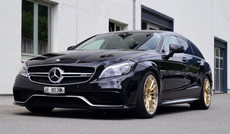 Mercedes Benz CLS63 AMG Shootingbrake W218 Tuning KW HRE 3 cartech.ch   Mercedes Benz CLS63 AMG auf HRE Alufelgen