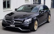 Mercedes Benz CLS63 AMG Shootingbrake W218 Tuning KW HRE 4 190x121 cartech.ch   Mercedes Benz CLS63 AMG auf HRE Alufelgen