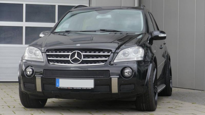 Mercedes Benz ML63 AMG 22 Zoll mbDesign KV1 Alu Tuning (1)