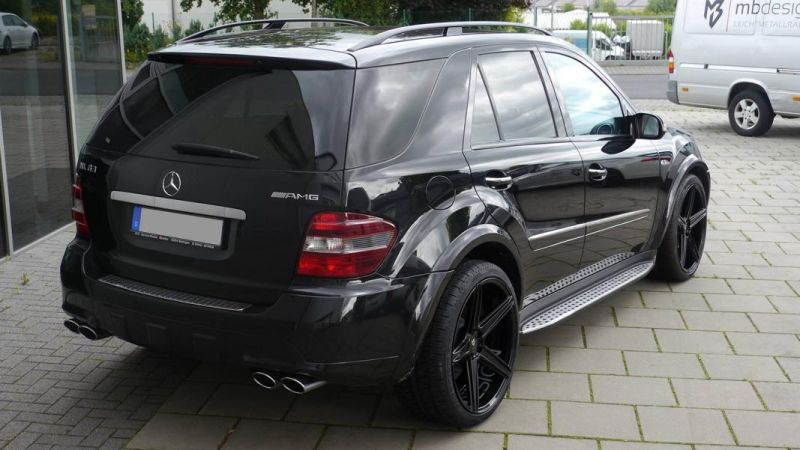 Mercedes Benz ML63 AMG 22 Zoll mbDesign KV1 Alu Tuning (2)