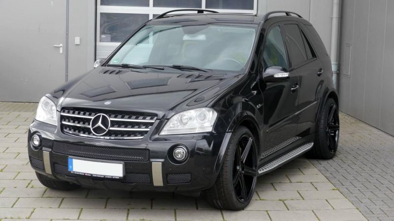 Mercedes Benz ML63 AMG 22 Zoll mbDesign KV1 Alu Tuning (4)