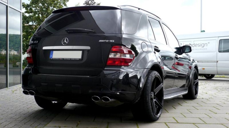 Mercedes Benz ML63 AMG 22 Zoll mbDesign KV1 Alu Tuning (5)
