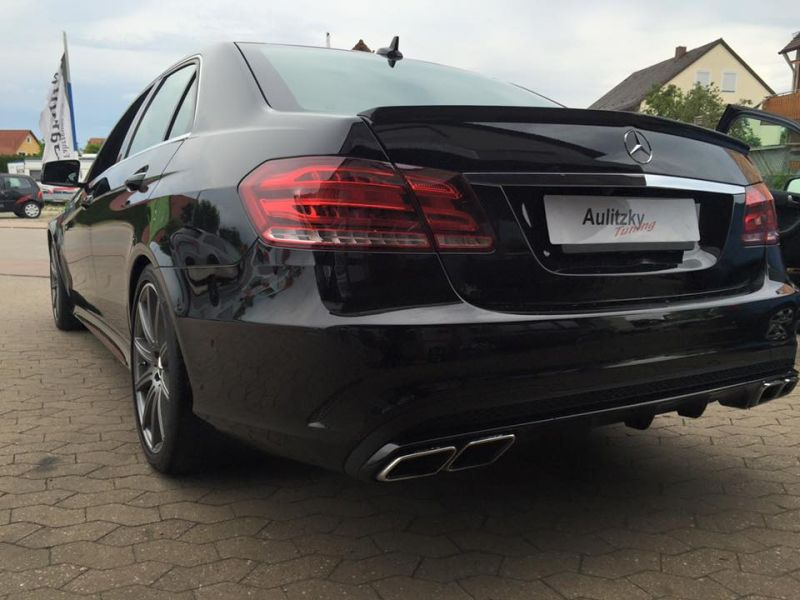 Mercedes E500 V8-Biturbo W212 540PS by Aulitzky Chiptuning 6