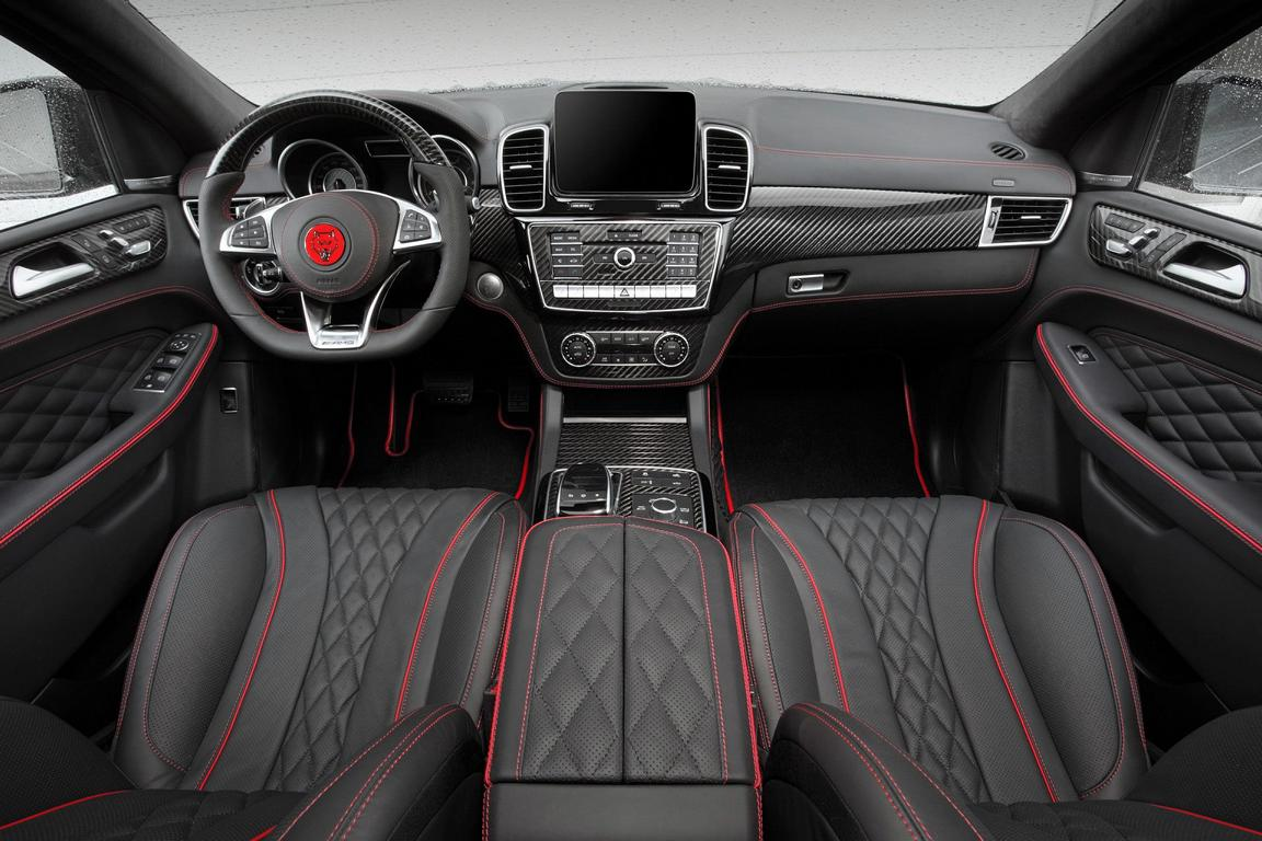 mercedes gle63 amg tuning interior 1 magazine. Black Bedroom Furniture Sets. Home Design Ideas