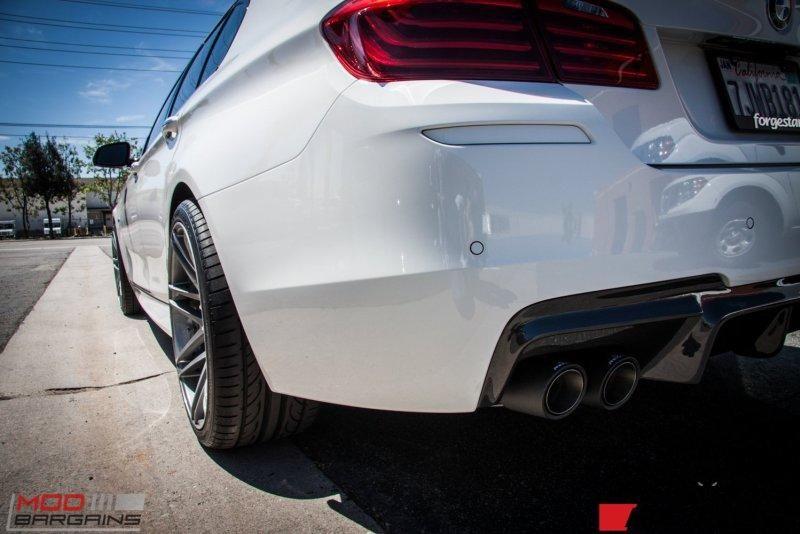 Modbargains BMW 535i F10 20 Zoll Forgestar F14 Remus tuning (7)
