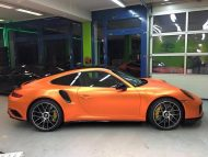 Orange Chrome Porsche 911 Turbo Mk II by Print Tech Tuning 1 190x143 Auffällig   Orange Chrome Porsche 911 Turbo Mk II by Print Tech