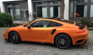Orange Chrome Porsche 911 Turbo Mk II by Print Tech Tuning 5 190x113 Auffällig   Orange Chrome Porsche 911 Turbo Mk II by Print Tech
