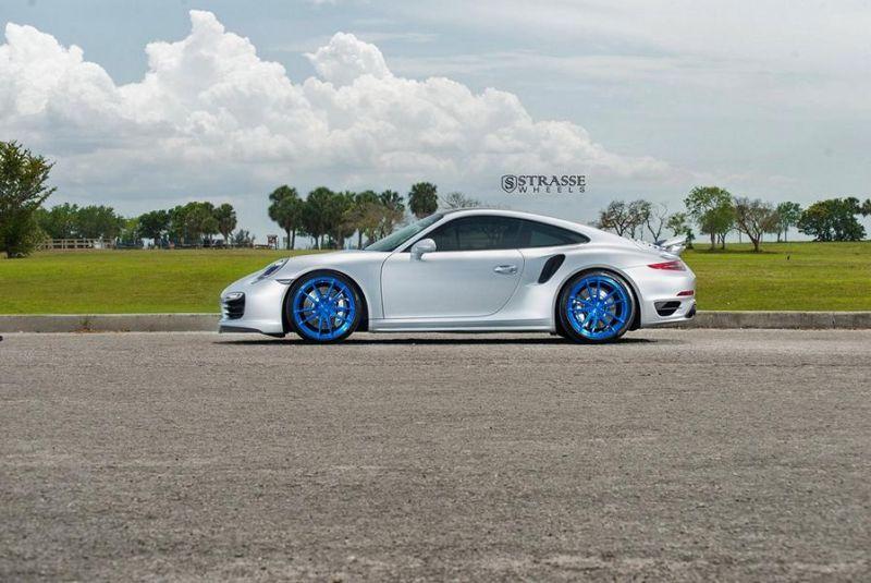 Porsche 911 991 Turbo 20 Zoll Strasse Wheels SV1 Felgen 20 Zoll Tuning 1 Porsche 911 (991) Turbo auf 20 Zoll Strasse Wheels SV1 Alu's