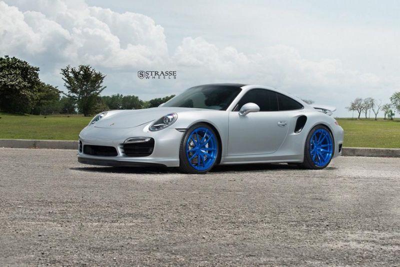 Porsche 911 991 Turbo 20 Zoll Strasse Wheels SV1 Felgen 20 Zoll Tuning 3 Porsche 911 (991) Turbo auf 20 Zoll Strasse Wheels SV1 Alu's