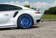 Porsche 911 991 Turbo 20 Zoll Strasse Wheels SV1 Felgen 20 Zoll Tuning 7 190x127 Porsche 911 (991) Turbo auf 20 Zoll Strasse Wheels SV1 Alu's