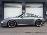 Porsche 911 997 Carerra 4S Tuning TVW Car Design KW Work Wheels 190x143 Dezent   Porsche 911 (997) Carerra 4S by TVW Car Design