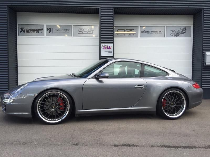 Porsche 911 997 Carerra 4S Tuning TVW Car Design KW Work Wheels Dezent   Porsche 911 (997) Carerra 4S by TVW Car Design