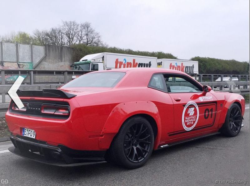 Prior Design PDHC900 Dodge Challenger Hellcat Mareike Fox Tuning 900PS (4)