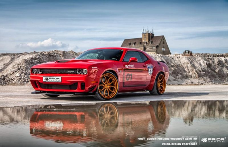 Prior Design PDHC900 PD 900HC Dodge Challenger Hellcat Tuning 1