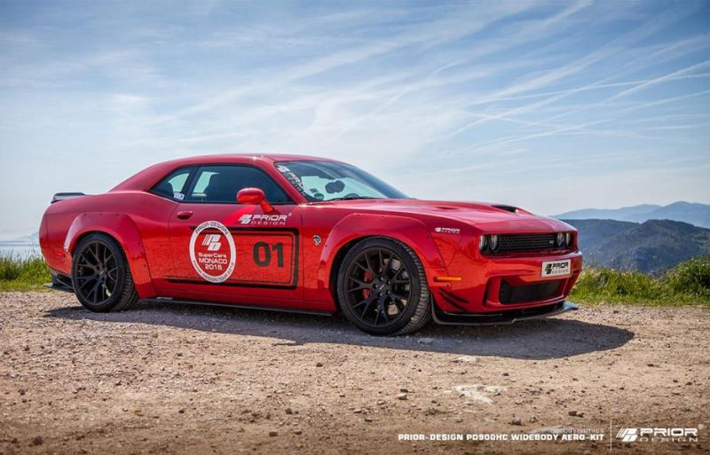 Prior Design PDHC900 PD 900HC Dodge Challenger Hellcat Tuning 13