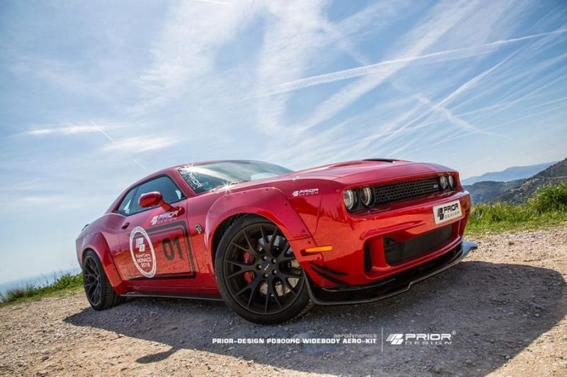 Prior Design PDHC900 PD 900HC Dodge Challenger Hellcat Tuning 18